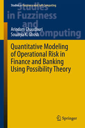 Quantitative Modeling of Operational Risk in Finance and Banking Using Possibility Theory by Arindam Chaudhuri