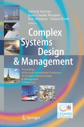 Complex Systems Design & Management by Gérard Auvray