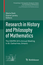 Research in History and Philosophy of Mathematics by Maria Zack