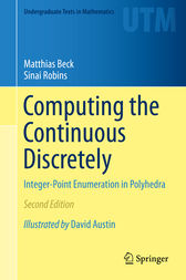 Computing the Continuous Discretely by Matthias Beck