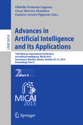 Advances in Artificial Intelligence and Its Applications by Obdulia Pichardo Lagunas