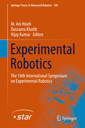 Experimental Robotics by M. Ani Hsieh
