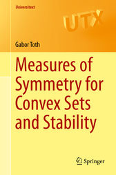 Measures of Symmetry for Convex Sets and Stability by Gabor Toth