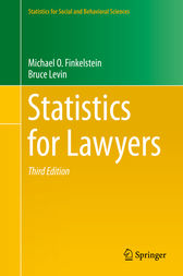 Statistics for Lawyers by Michael O. Finkelstein