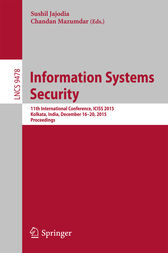 Information Systems Security by Sushil Jajoda
