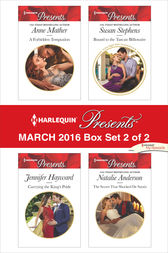 Harlequin Presents March 2016 - Box Set 2 of 2 by Anne Mather