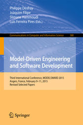 Model-Driven Engineering and Software Development by Philippe Desfray