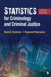 Statistics for Criminology and Criminal Justice by Ronet D. Bachman