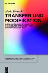 Transfer und Modifikation by Mario Zanucchi