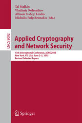 Applied Cryptography and Network Security by Tal Malkin