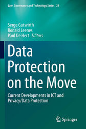 Data Protection on the Move by Serge Gutwirth