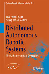Distributed Autonomous Robotic Systems by Nak-Young Chong
