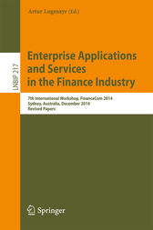 Enterprise Applications and Services in the Finance Industry by Artur Lugmayr