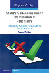 Stahl's Self-Assessment Examination in Psychiatry by Stephen M. Stahl