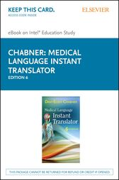 Medical Language Instant Translator by Davi-Ellen Chabner