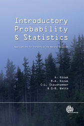 Introductory Probability and Statistics by A. Kozak