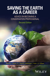 Saving the Earth as a Career by Malcolm L. Hunter