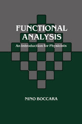 Functional Analysis by Nino Boccara