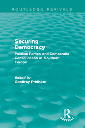 Securing Democracy by Geoffrey Pridham
