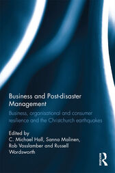 Business and Post-disaster Management by C. Michael Hall