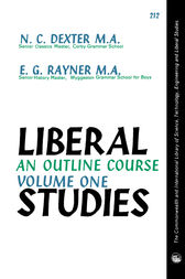 Liberal Studies by N. C. Dexter