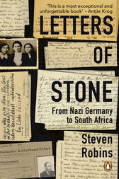 Letters of Stone by Steven Robins