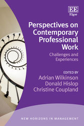 Perspectives on Contemporary Professional Work by Adrian Wilkinson