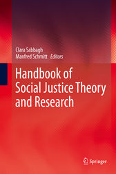 Handbook of Social Justice Theory and Research by Clara Sabbagh