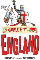 Horrible Histories: England by Terry Deary