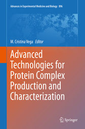 Advanced Technologies for Protein Complex Production and Characterization by M. Cristina Vega
