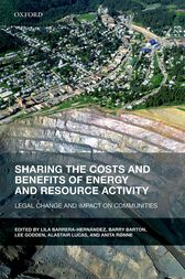 Sharing the Costs and Benefits of Energy and Resource Activity by Lila Barrera-Hernández