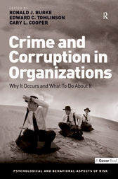 Crime and Corruption in Organizations by Ronald J. Burke