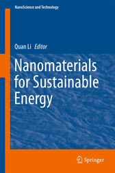 Nanomaterials for Sustainable Energy by Quan Li