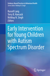 Early Intervention for Young Children with Autism Spectrum Disorder by Russell Lang