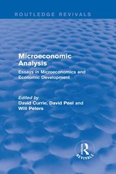 Microeconomic Analysis (Routledge Revivals) by David Currie