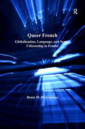 Queer French by Denis M. Provencher