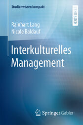 Interkulturelles Management by Rainhart Lang