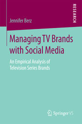 Managing TV Brands with Social Media by Jennifer Berz