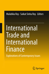 International Trade and International Finance by Malabika Roy