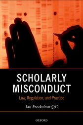 Scholarly Misconduct by Ian Freckelton QC