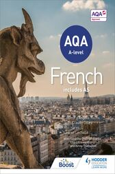 AQA A-level French (includes AS) by Casimir d'Angelo
