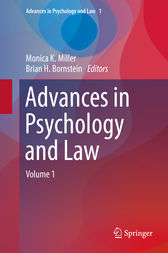 Advances in Psychology and Law by Monica K. Miller