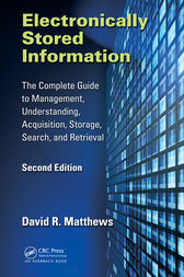 Electronically Stored Information by David R. Matthews