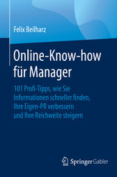 Online-Know-how für Manager by Felix Beilharz