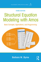 Structural Equation Modeling With AMOS by Barbara M. Byrne