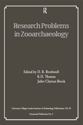 Research Problems in Zooarchaeology
