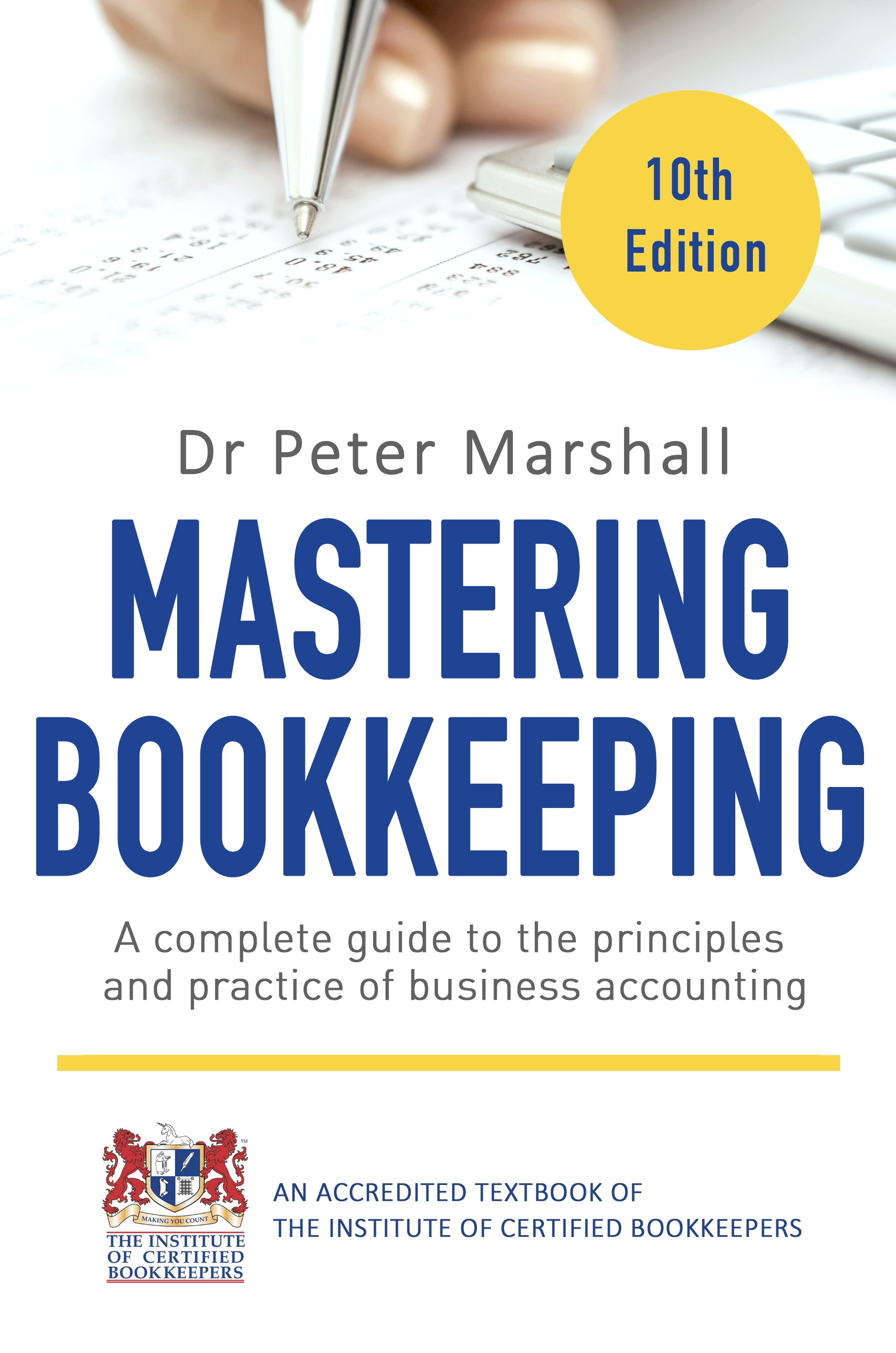 Download Ebook Mastering Bookkeeping, 10th Edition by Peter Marshall Pdf