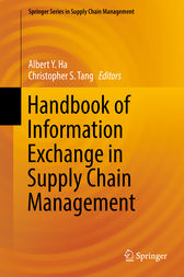 Handbook of Information Exchange in Supply Chain Management by Albert Y. Ha