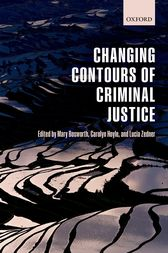 Changing Contours of Criminal Justice by Mary Bosworth