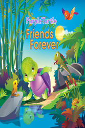 Purple Turtle - Friends Forever by Suvarna Bhajanka